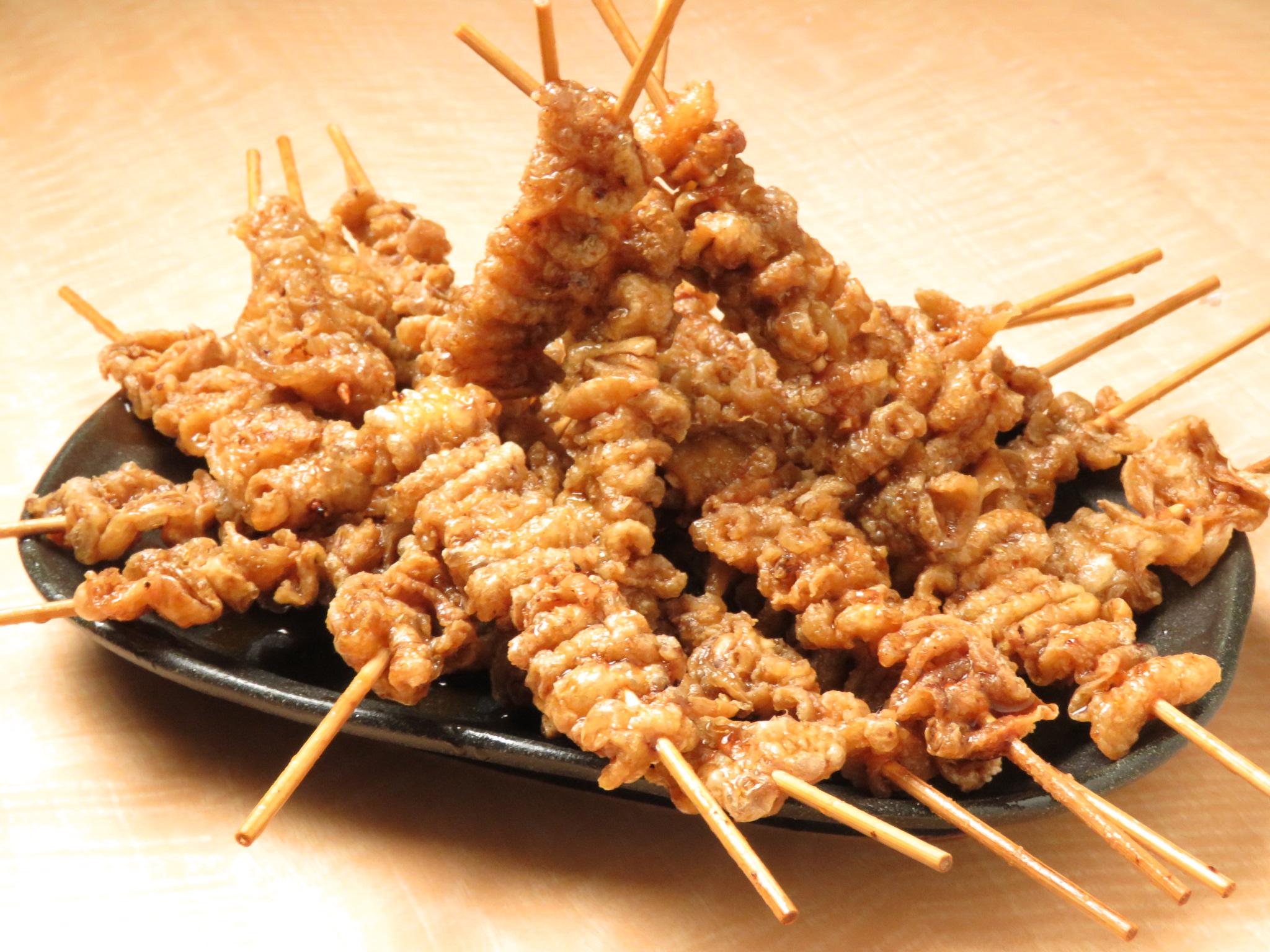 渋谷の鶏料理専門店[とりいちず]の絶品とり皮