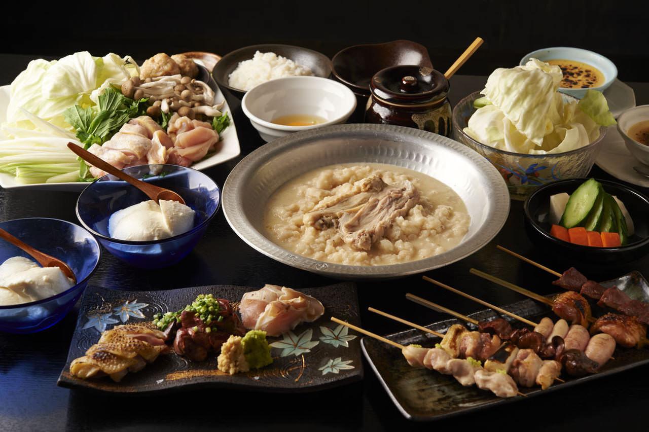 とりいちず酒場 渋谷店の鶏料理が満喫できるコース